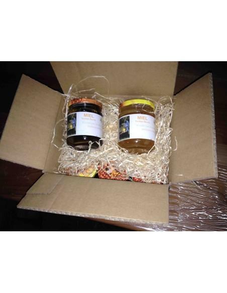 6 pots de miel à votre nom