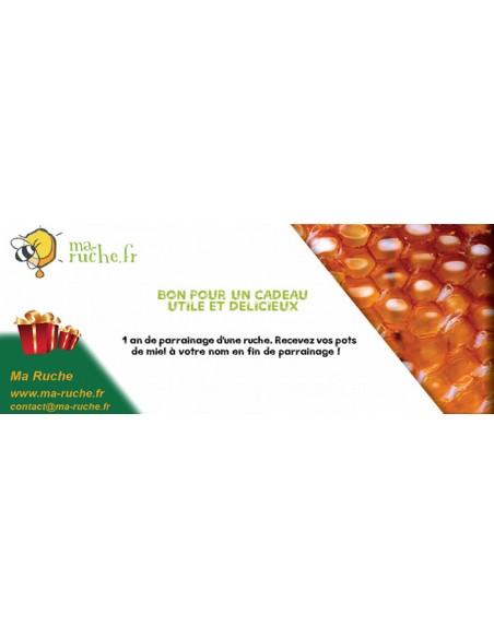 Offrez un parrainage en téléchargeant le bon-cadeau